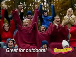 Warm front: So far, 4 million Snuggies have been shipped or backordered.