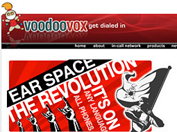 VoodooVox website