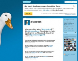 Real: Aflac Duck