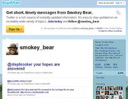 Real: Smokey the Bear