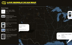 Best Buy's Live Mobile Scan map.