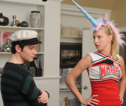 A scene from 'Glee'
