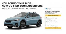 Subaru Is Sticking To Its Targeted Formula As It Begins Marketing The Redesigned 2018 Crosstrek Which Began Entering Increasingly Compeive
