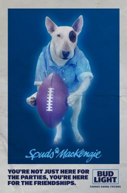 Spuds MacKenzie Is Back -- as a Ghost in Bud Light Super Bowl Ad | AdAge