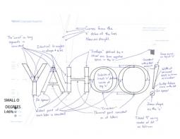 Marissa Mayer Put in a Weekend's Worth of Work Designing New Yahoo Logo