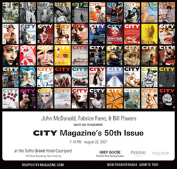 City Magazine Invite