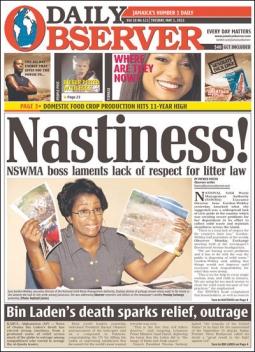 Jamaica's Daily Observer