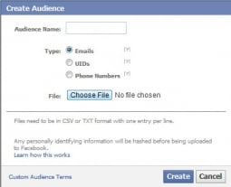 Facebook to Roll Out Email, Phone Number Ad Targeting | AdAge