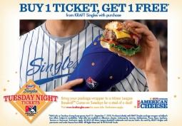 Kraft Singles: Tuesday Night Tickets