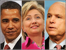 Obama-Clinton-McCain