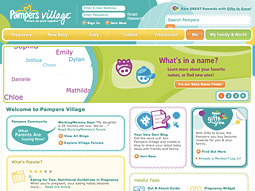 Pampers Village blends content, tools and social functionality based on the insight that parents want to connect and naturally form communities both online and off.