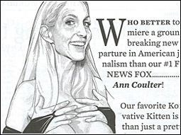 Ann Coulter stipple