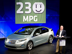 General Motors Co. CEO Fritz Henderson at a live webcast this morning.