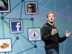 Mark Zuckerberg's social network is now valued at $50 billion.