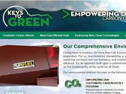 Enterprise Rent-a-Car's green site