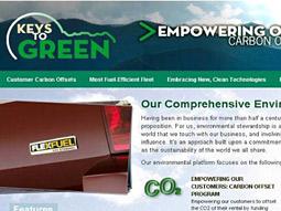 Enterprise Rent-a-Car's green site