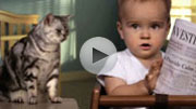 E-trade 'Cat' Super Bowl spot