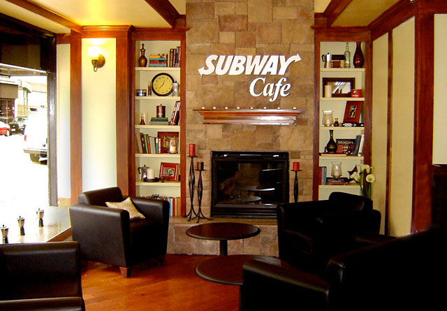 Subway Cafe remodel