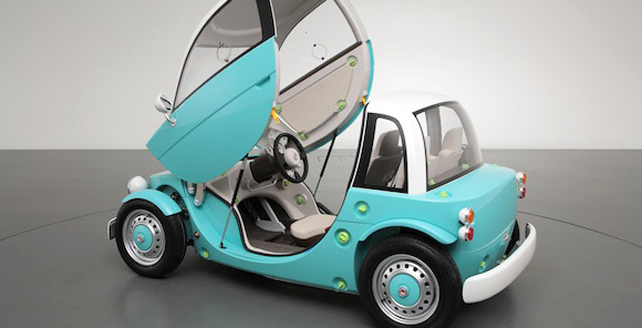 toyota unveils concept car for kids at tokyo toy fair