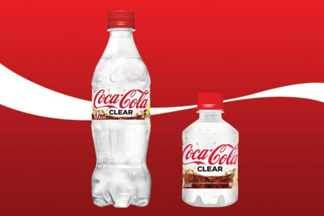 08aee900 Now Japanese consumers are getting the first look at Coca-Cola Clear, a  clear, zero-calorie soda that includes lemon flavor. Of course, PepsiCo  brought ...