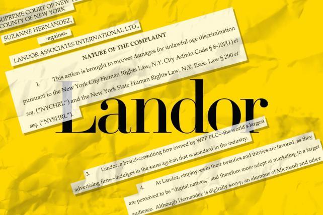 Former Landor employee files age discrimination suit against