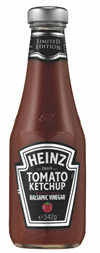Heinz Tomato Ketchup with Balsamic Vinegar is the company's first limited-edition product.