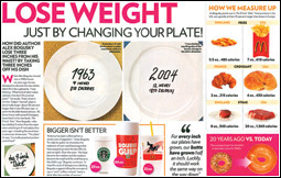 People Magazine - Lose Weight spread