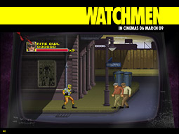Warner Brothers: Watchmen Arcade Game
