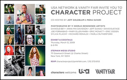 USA's Character Project invite