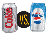 Diet Pepsi vs. Diet Coke
