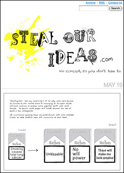 Steal Our Ideas