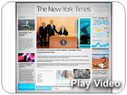 Intel: New York Times home-page takeover