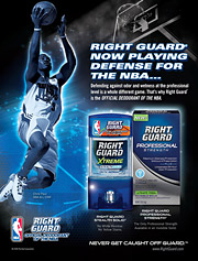 Right Guard ad