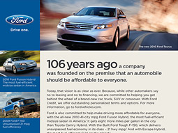 Reuther Ford advertorial