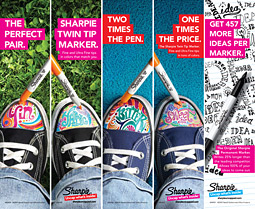 Sharpie ads