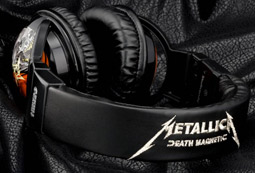 Skullcandy's Metallica headphones