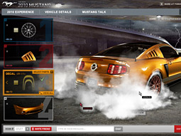 Ford: 'Mustang Community Customizer'