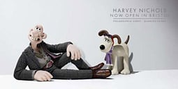 Harvey Nichols: Wallace and Gromit