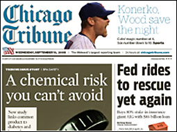 Tribune redesign