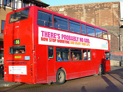 British Humanist Association: Atheist Bus Campaign