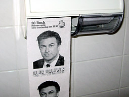 Comedy Central Netherlands: '30 Rock' Toilet Paper