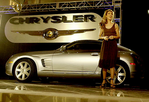 Redhead from chrysler aspen commercials