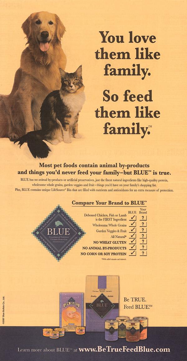 Natural Dog Food Ads